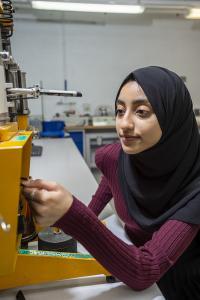 Ayesha - mechanical engineer